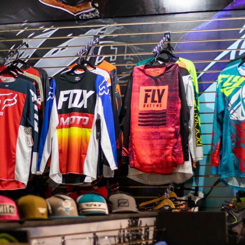 Camisetas para motocross
