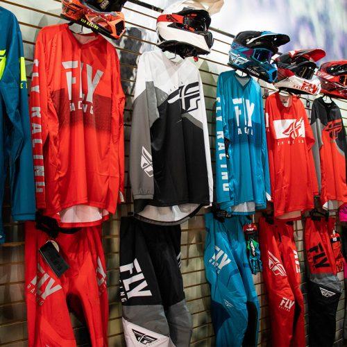 Uniformes de motocross
