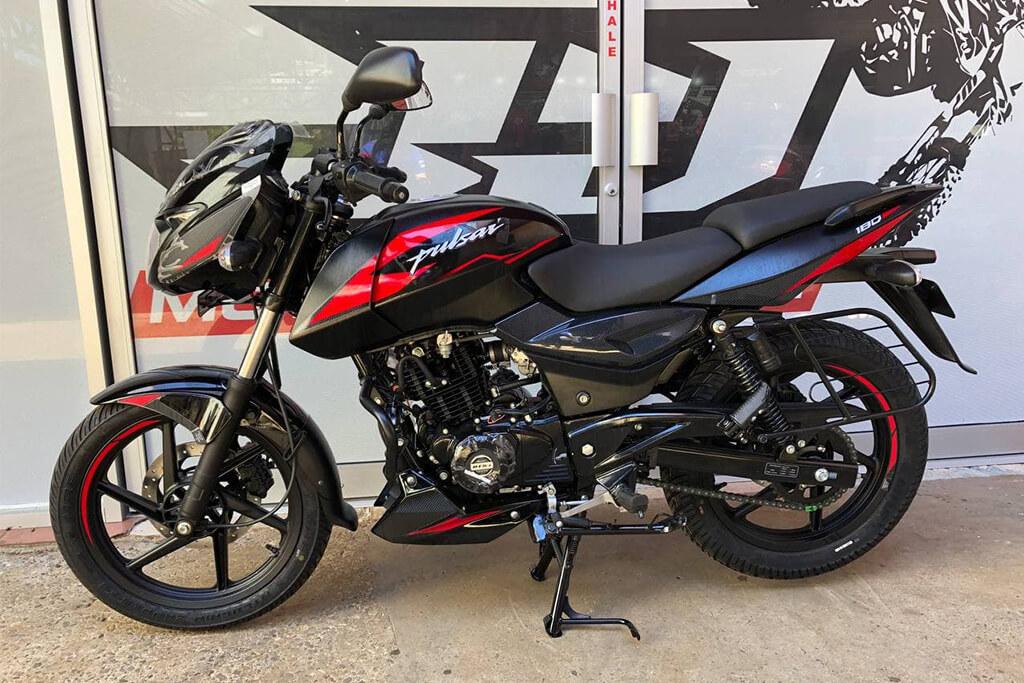 Conduce con estilo y comodidad con la moto Pulsar 180